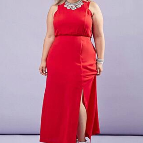 Forever 21 Dresses & Skirts - Forever 21 Red Maxi Dress NWT Size 3X